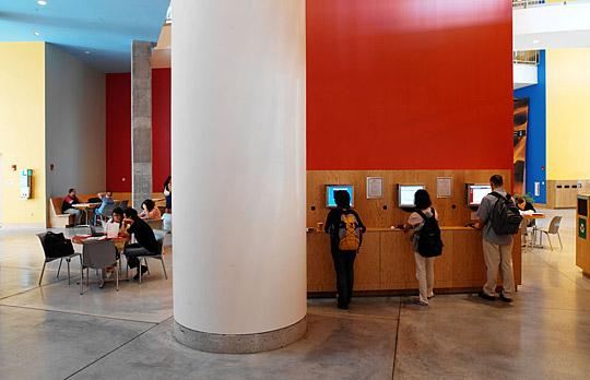 Stata Center lobby photo