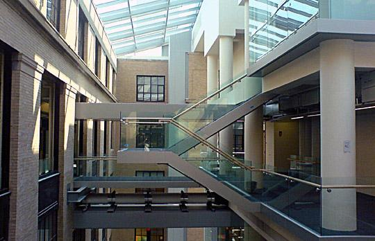 Physics atrium image