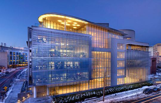 MIT Capital Projects: Media Lab Complex, Building E14