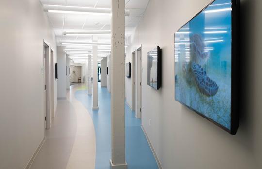 NW98 hallway