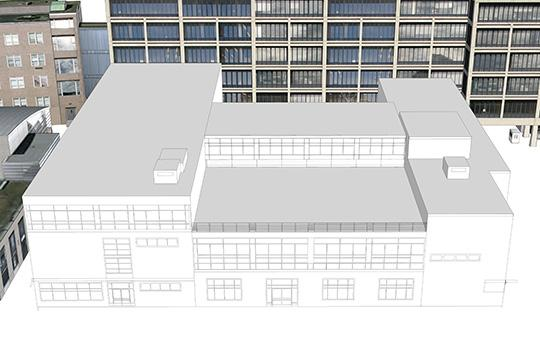 Southern elevation of Bldg 31 (Imai Keller Moore Architects)