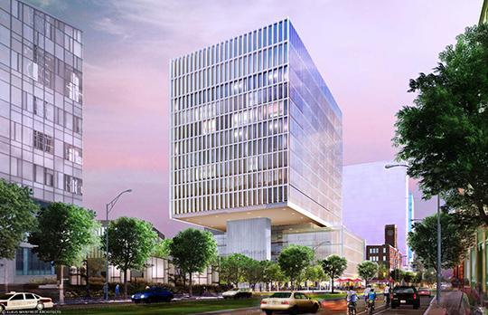 Building 2 concept (Courtesy Elkus Manfredi)