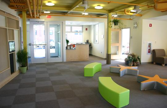 Lobby of Childcare Center