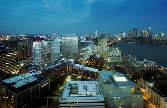 Kendall Square at night