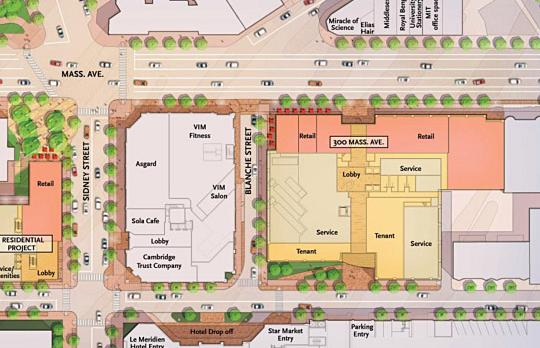 Site plan University Park area