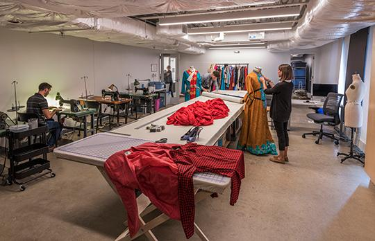 Theater Arts costume design Studio