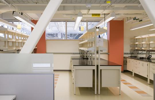 Building 31 lab (Courtesy R Bousquet Photo)