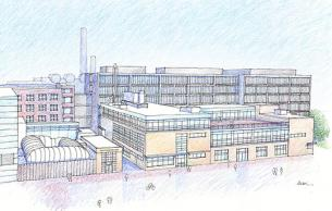 Bldg 31 illustration (Imai Keller Moore Architects)