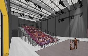 Concept for theater and performance space