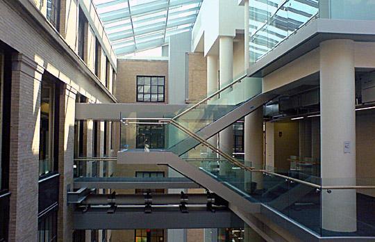 Physics atrium image