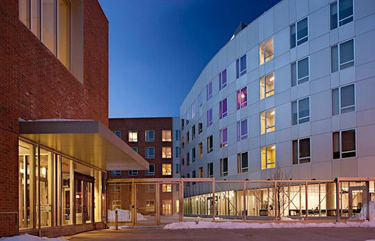 MIT Capital Projects: Ashdown House, Building NW35