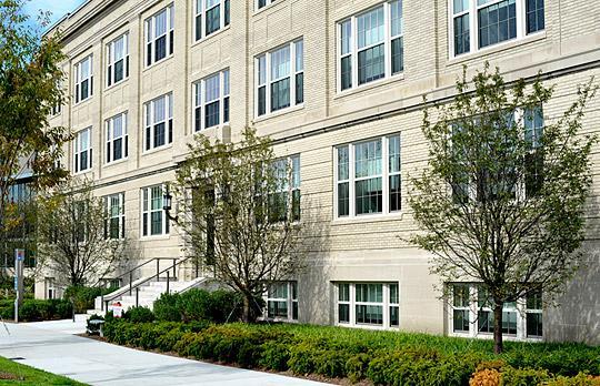 Arthur D. Little Building, E60 facade photo