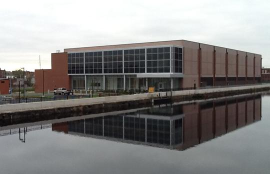 MGHPCC across the canal