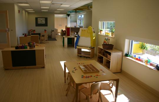 The David H Koch Childcare Center Technology Childcare