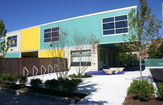 Koch Childcare Center entrance