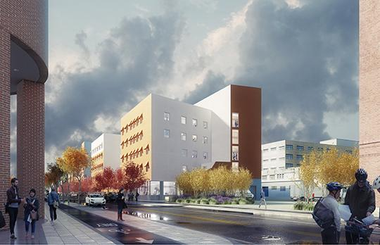 Rendering, Courtesy Michael Maltzan Architecture