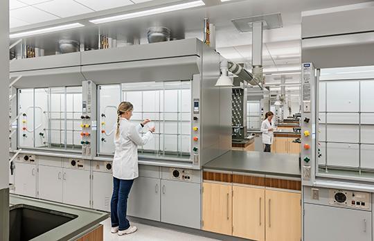 MIT.nano Chemistry lab (Courtesy Wilson Architects)