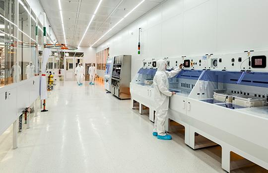 MIT.nano clean room (Courtesy Wilson Architects)