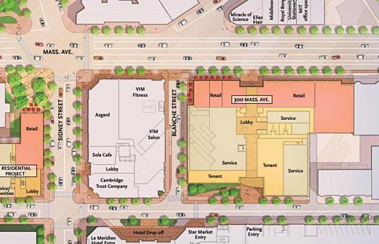 Site plan University Park area