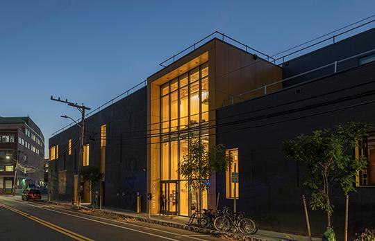 Theater Arts South façade